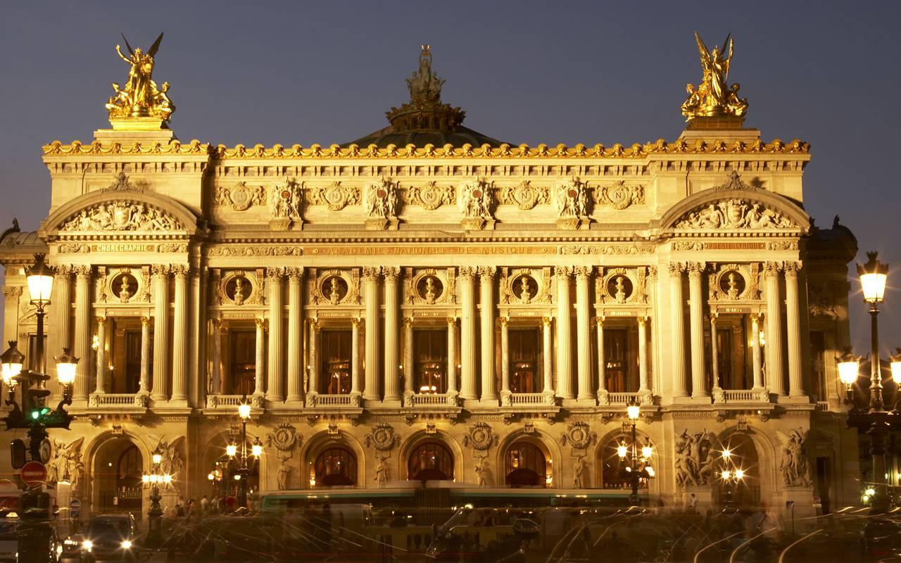Opéra garnier Hotel Luxe Paris
