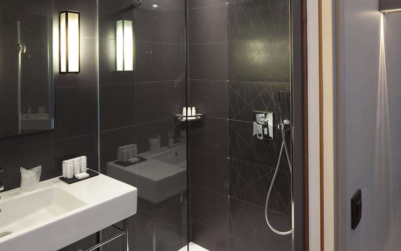 Shower cabin Hotel Luxe Paris