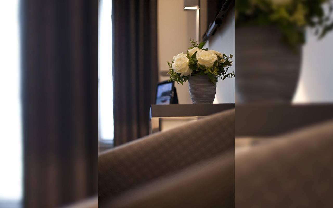 Flowers pot Hotel Luxe Paris