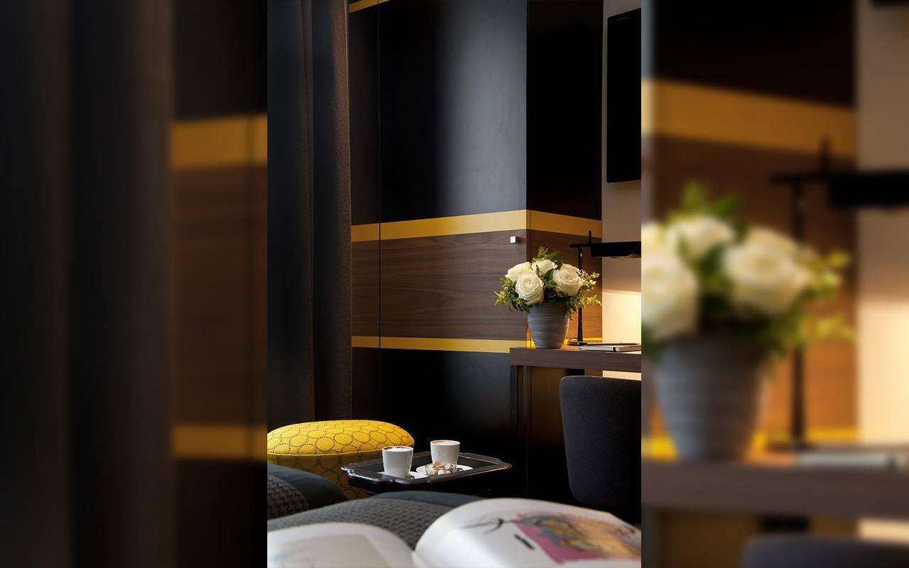 Superior twin room Hotel Luxe Paris