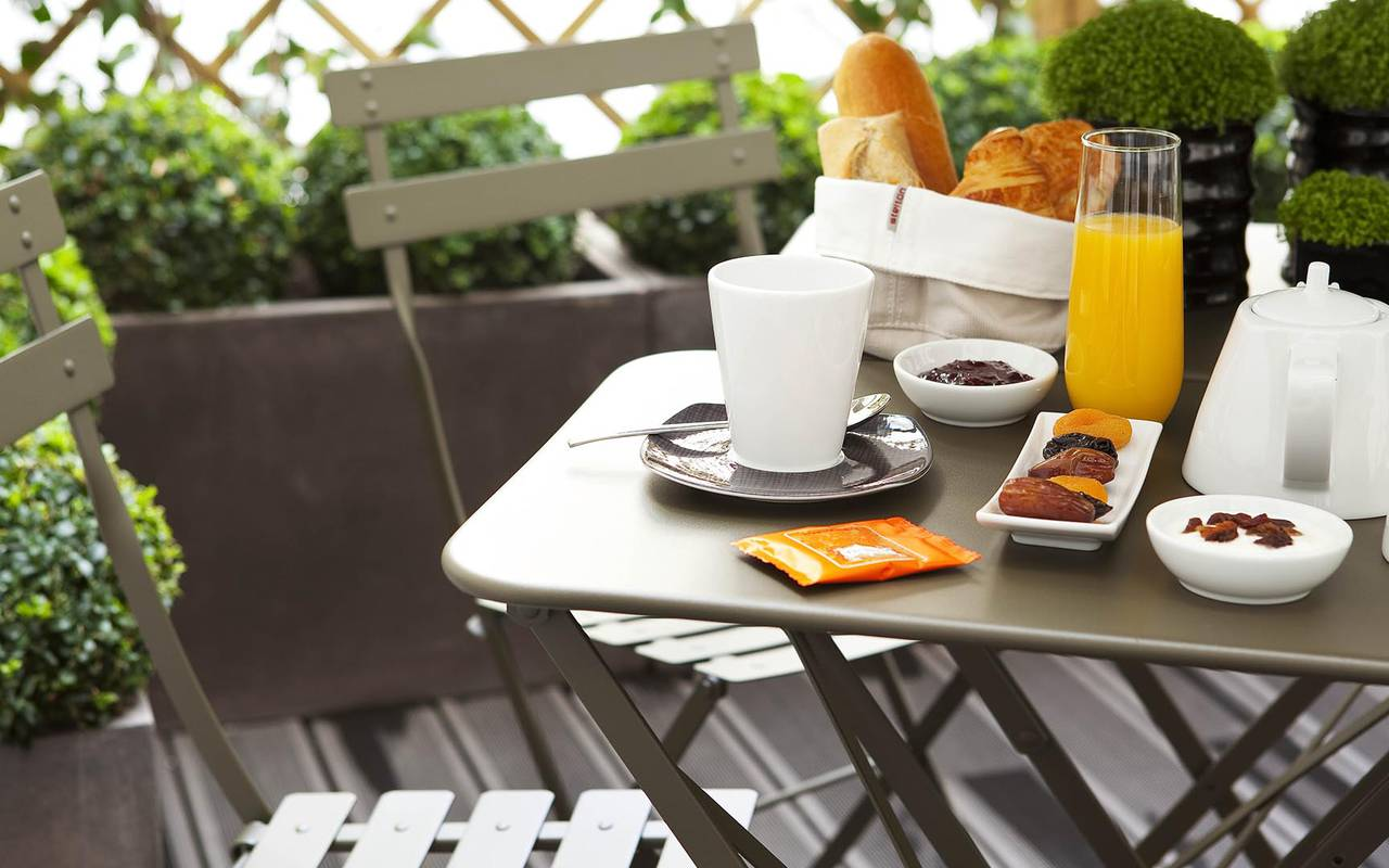 Gourmand breakfast Hotel Paris Opera