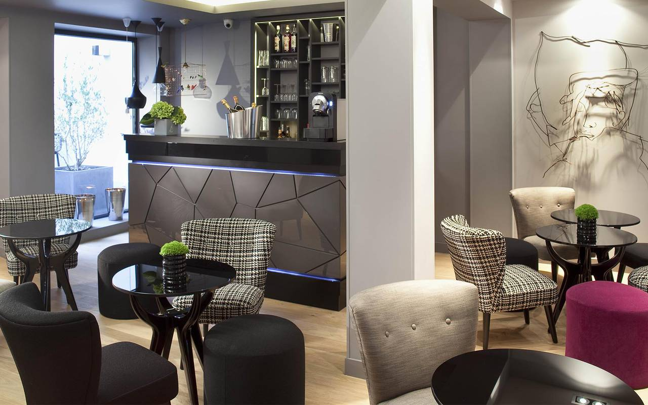 Bar lounge Montmartre Hotels