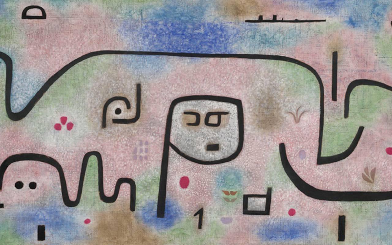 Paul Klee show Hotel Paris Opera