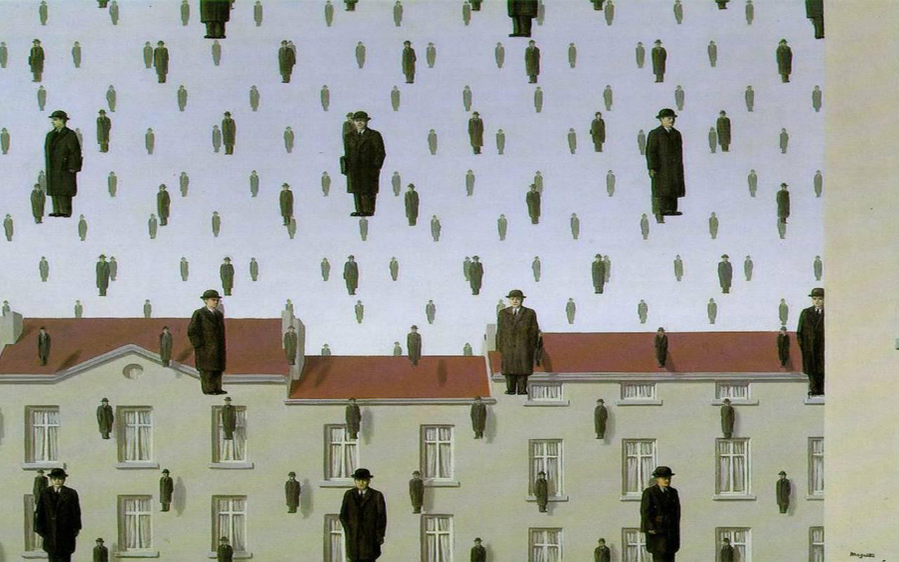 Magritte show Hotel Paris Opera