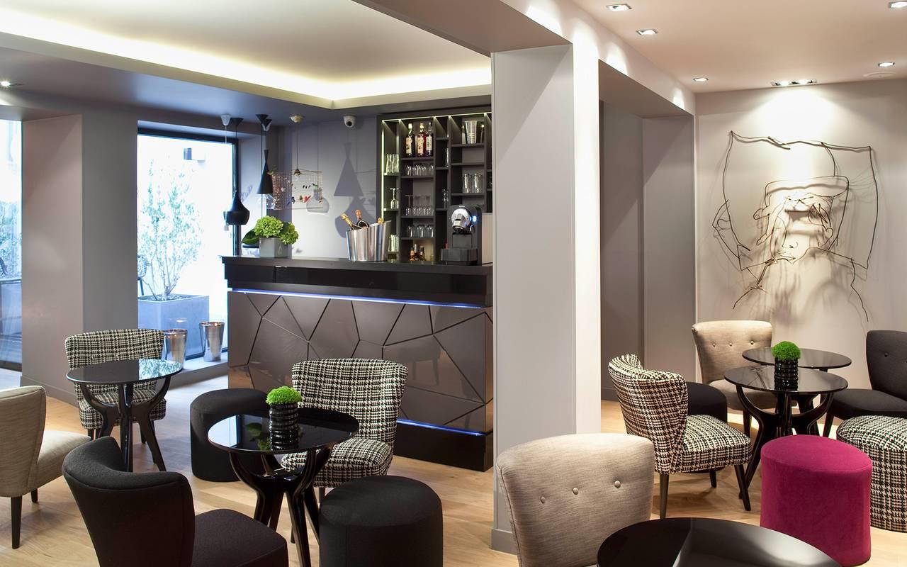 Bar lounge Hotel Paris 9ème arrondissement