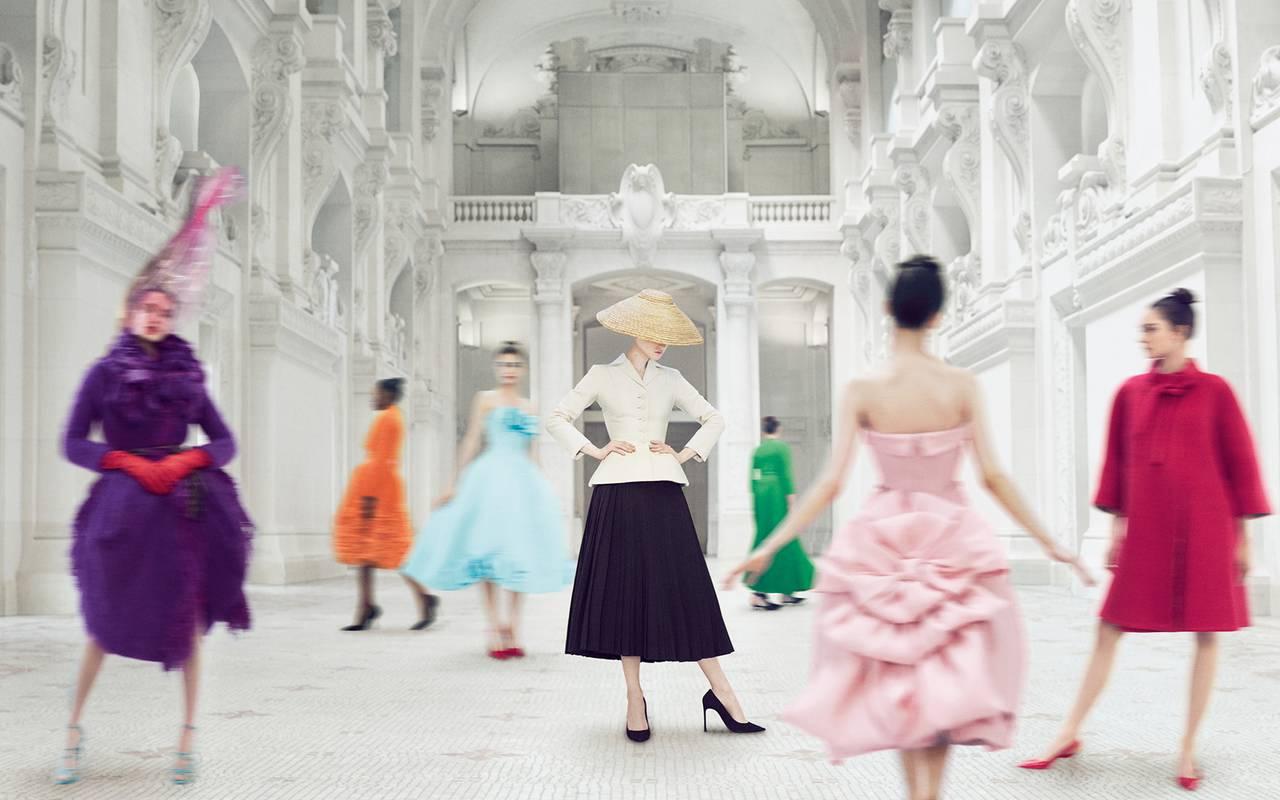 Dior show Hotel Paris Opera