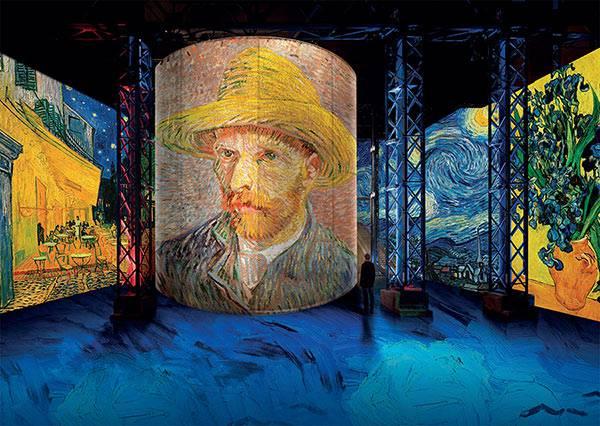 Van Gogh show Hotel Paris Opera