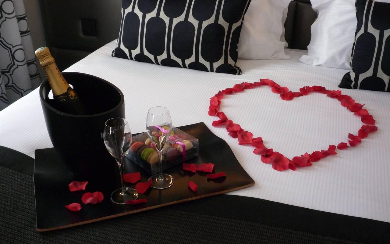 Valentines day Hotel Paris Opera