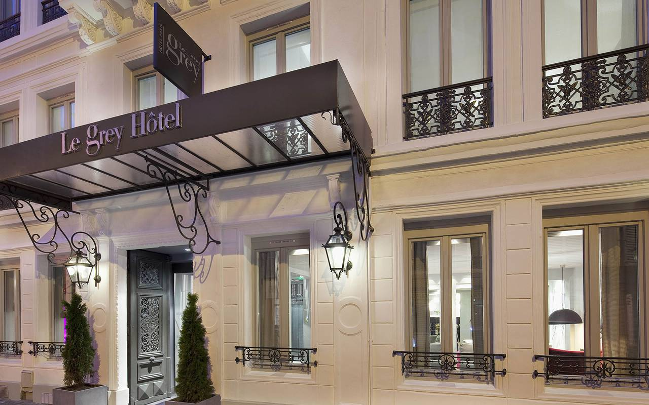 Le grey hotel boutique hotel 4 etoiles paris 9 opera for Paris boutiques hotels