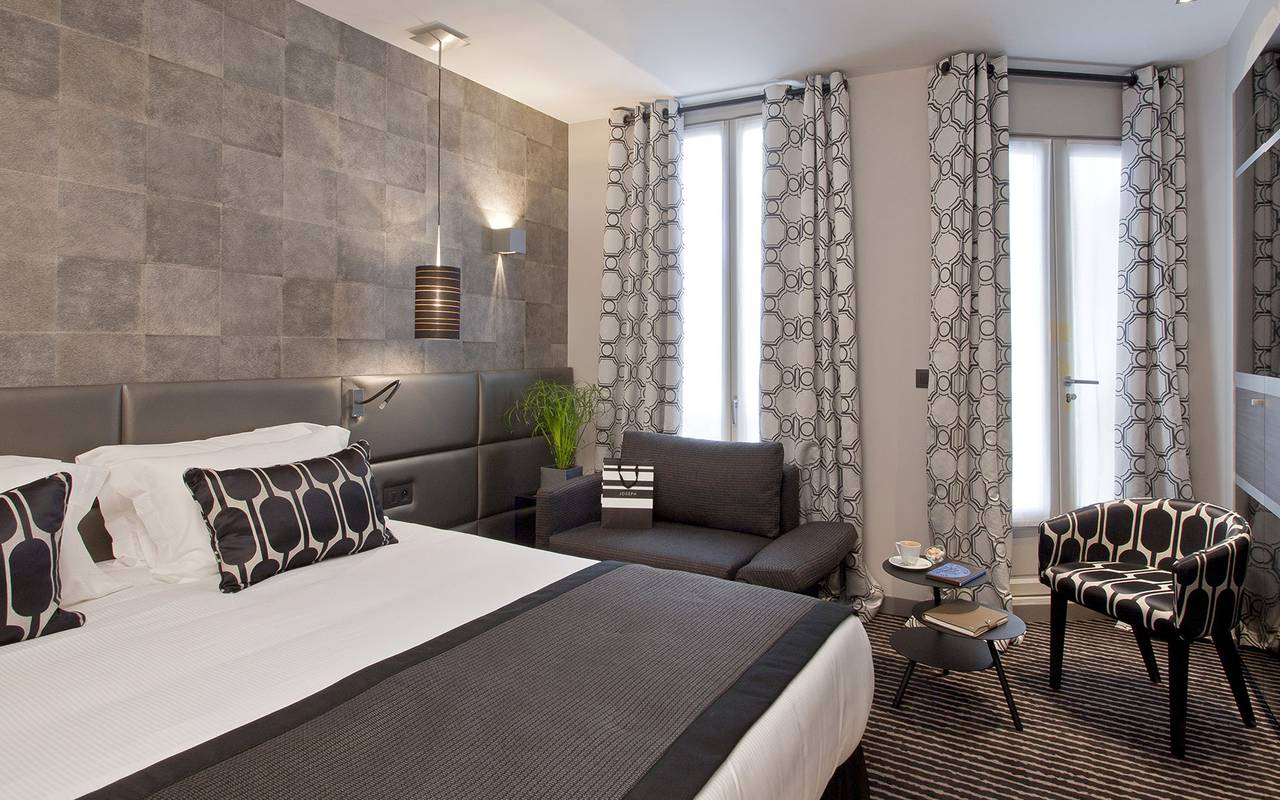Chambre double luxueuse Hotel Paris 9eme