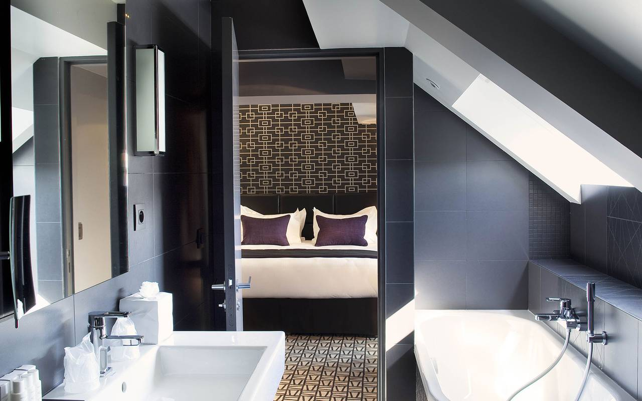 Chambre double luxueuse Boutique Hotel Paris