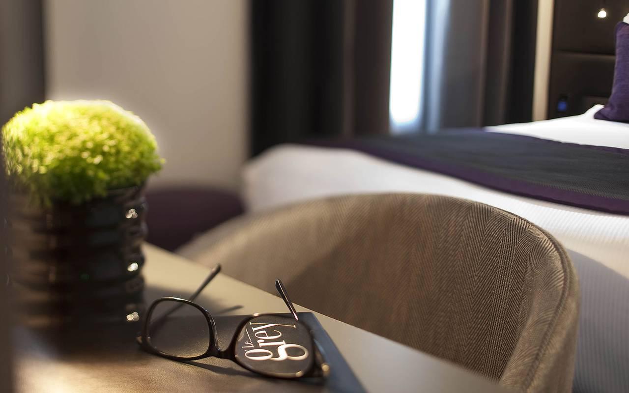 Fauteuil confortable Hotel Paris 9ème arrondissement
