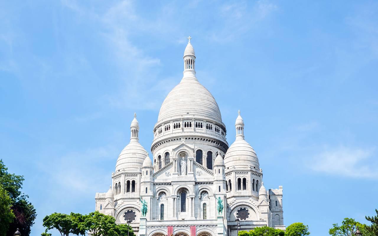 Sacré coeur monument Hotel Luxe Paris