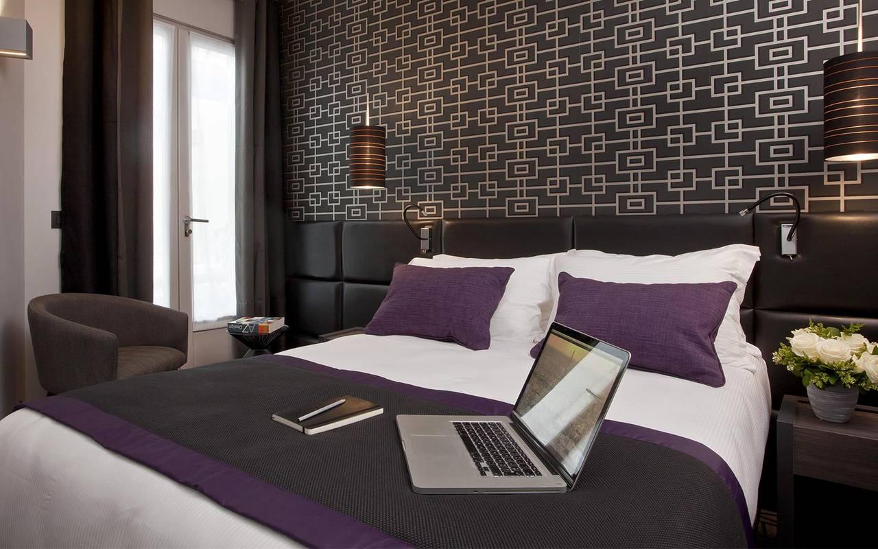 Chambre double Hotel Luxe Paris