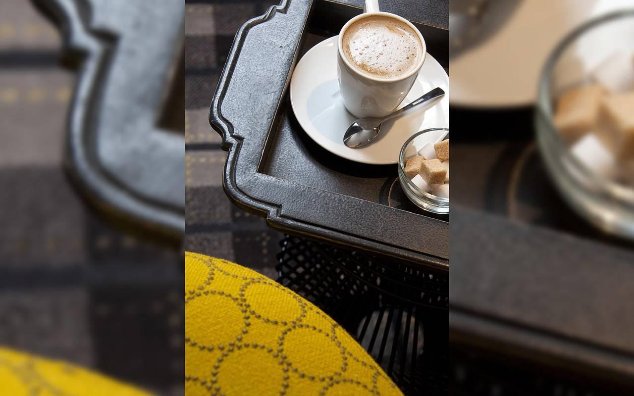 Pause café Hotel Luxe Paris