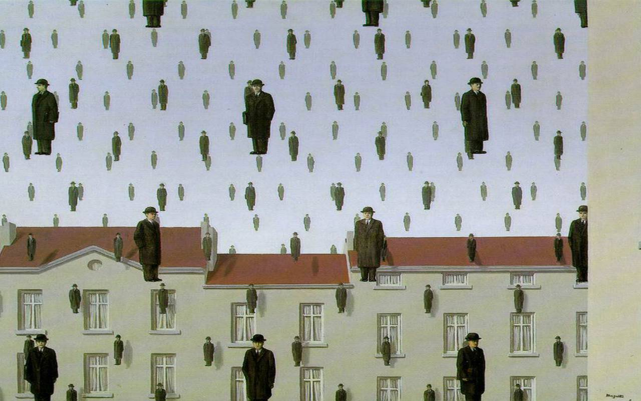 Exposition magritte Hotel Paris Opera